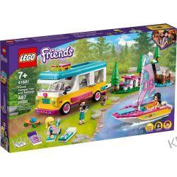 41681 LEŚNY MIKROBUS KEMPINGOWY I ŻAGLÓWKA (Forest Camper Van and Sailboat) KLOCKI LEGO FRIENDS Friends