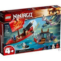 71749 OSTATNI LOT PERŁY PRZEZNACZENIA (Final Flight of Destiny's Bounty) KLOCKI LEGO NINJAGO Ninjago
