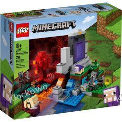 21172 ZNISZCZONY PORTAL (The Ruined Portal)- KLOCKI LEGO MINECRAFT Pozostałe