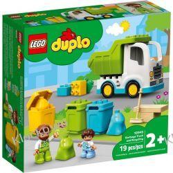 10945 ŚMIECIARKA I RECYKLING (Garbage Truck and Recycling) KLOCKI LEGO DUPLO Duplo