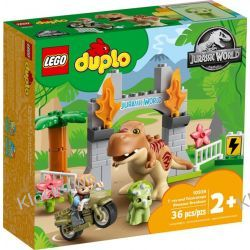 10939 UCIECZKA TYRANOZAURA I TRICERATOPSA (T. rex and Triceratops Dinosaur Breakout) - KLOCKI LEGO DUPLO Ninjago