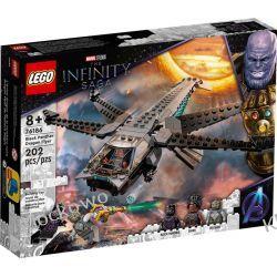 76186 HELIKOPTER CZARNEJ PANTERY (Black Panther Dragon Flyer ) - KLOCKI LEGO SUPER HEROES Klocki