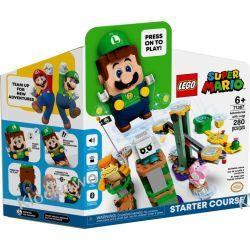 71387 PRZYGODY Z LUIGIM - ZESTAW STARTOWY (Adventures with Luigi) - KLOCKI LEGO SUPER MARIO Dla Dzieci