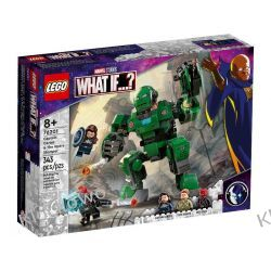 76201 KAPITAN CARTER I NISZCZYCIEL HYDRY (Captain Carter & The Hydra Stomper ) - KLOCKI LEGO SUPER HEROES Lego