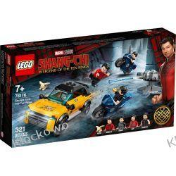 76176 UCIECZKA PRZED DZIESIĘCIOMA PIERŚCIENIAMI (Escape from The Ten Rings ) - KLOCKI LEGO SUPER HEROES Zabawki