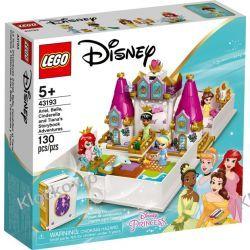 43193 KSIĄŻKA Z PRZYGODAMI ARIELKI , BELLI, KOPCIUSZKA I TIANY(Ariel, Belle, Cinderella and Tiana's Storybook Adventures) KLOCKI LEGO DISNEY PRINCESS Zabawki