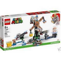 71390 WALKA Z REZNORAMI - ZESTAW ROZSZERZAJĄCY (Reznor Knockdown) - KLOCKI LEGO SUPER MARIO Zabawki