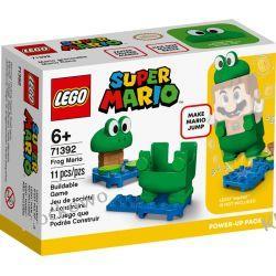 71392 MARIO ŻABA - ULEPSZENIE (Frog Mario Power-Up Pack) - KLOCKI LEGO SUPER MARIO Zabawki