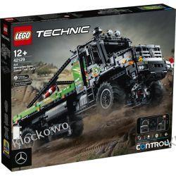 42129 CIĘŻARÓWKA MERCEDES-BENZ ZETROS  Z NAPĘDEM 4X4(4x4 Mercedes-Benz Zetros Trial Truck) KLOCKI LEGO TECHNIC  Zabawki