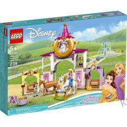 43195 KRÓLEWSKIE STAJNIE BELLI I ROSZPUNKI (Belle and Rapunzel's Royal Stables) KLOCKI LEGO DISNEY PRINCESS Zabawki