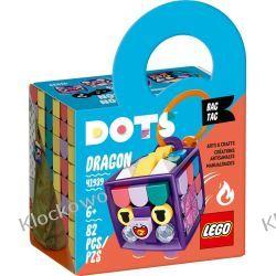 41939 ZAWIESZKA ZE SMOKIEM (Bag Tag Dragon) KLOCKI LEGO DOTS Zabawki