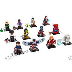 71031 MINIFIGURKI LEGO SERIA MARVEL (LEGO Marvel Studios Series)-  KOMPLET 12 SZT  Zabawki