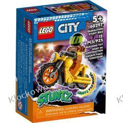 60297 DEMOLKA NA MOTOCYKLU KASKADERSKIM (Demolition Stunt Bike) KLOCKI LEGO CITY Dla Dzieci