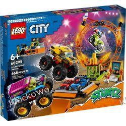 60295 ARENA POKAZÓW KASKADERSKICH (Stunt Show Arena) KLOCKI LEGO CITY Dla Dzieci