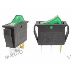 Przełącznik MK 111 podświetlany zielony 12 V