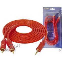 Kabel Jack 3.5 - 2 wtyki RCA  HQ 1.5m