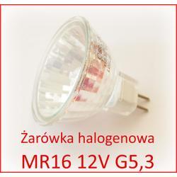 Żarówka halogen 12V MR16 50W PROMOCJA GU 5,3 60s