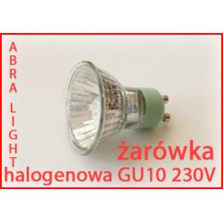 Żarówka halogen 230V GU10 20W GU 10