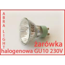Żarówka halogen 230V GU10 50W GU 10