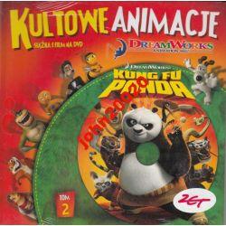 KUNG FU PANDA.DVD KULTOWE ANIMACJE 2.FOLIA.CZERWON