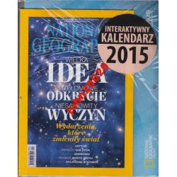 2015 KALENDARZ INTERAKT+NATIONAL GEOGRAPHIC 1/2015