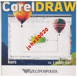 COREL DRAW 1.SZYBKI START. KURS CD