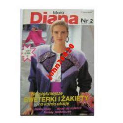MAŁA DIANA 2-1992,SWETERKI,ZAKIETY