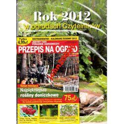 PRZEPIS NA OGRÓD1/2012+KALENDARZ OGRODY 2012
