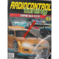 BMW M3 GTR RADIOCONTROL TUNING NR 51.HACHETTE KOLE
