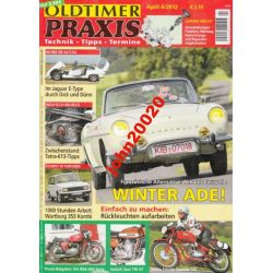 OLDTIMER PRAXIS APRIL 4/2012.JAGUAR E-TYPE,CARAVEL