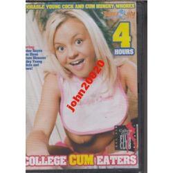 COLLEGE CUM EATERS.4 GODZ. DVD.SEX SEKS