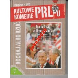 KOCHAJ ALBO RZUĆ.DVD + KSIĄŻKA.KULTOWE KOMEDIE PRL