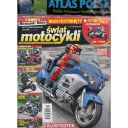 ŚWIAT MOTOCYKLI 9/2012.+ ATLAS POLSKI PÓŁNOC WAWA