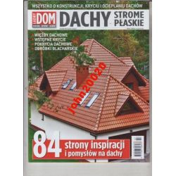 3/2014 ŁADNY DOM.DACHY PLASKIE I STROME