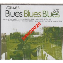 BLUES BLUES BLUES 2... 3 X CD.48 UTWORÓW..FOLIA