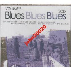 BLUES BLUES BLUES 2..3 X CD.48 UTWORÓW.WETON.FOLIA