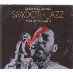 SMOOTH JAZZ 4... 3 X CD.48 UTWORÓW..FOLIA