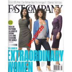 FAST COMPANY 8/2012.EXTRAORDINARY WOMEN