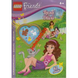 1/2013 LEGO FRIENDS.TĘCZA OLIVII.82 NAKLEJKI
