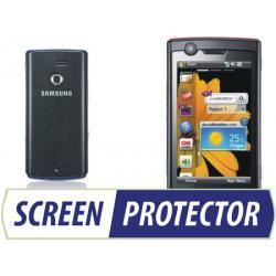 Profesjonalny zestaw folii ochronnych Screen Protector do telefonu Samsung B7300 Omnia Lite