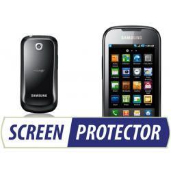 Profesjonalny zestaw folii ochronnych Screen Protector do telefonu Samsung i5800 Galaxy