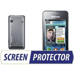 Profesjonalny zestaw folii ochronnych Screen Protector do telefonu Samsung S7230 Wave