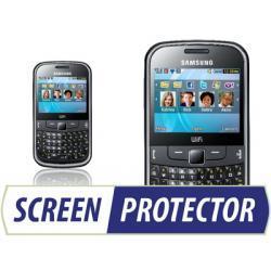 Profesjonalny zestaw folii ochronnych Screen Protector do telefonu Samsung S3350 Ch@t 335