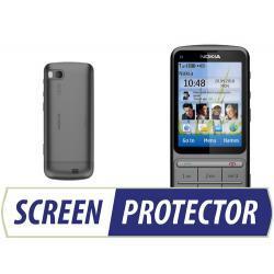 Profesjonalny zestaw folii ochronnych Screen Protector do telefonu Nokia C3-01