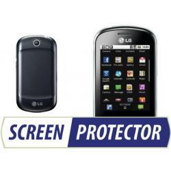 Profesjonalny zestaw folii ochronnych Screen Protector do telefonu LG P350 Swift Me