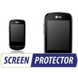 Profesjonalny zestaw folii ochronnych Screen Protector do telefonu LG T500 EGO
