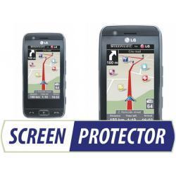Profesjonalny zestaw folii ochronnych Screen Protector do telefonu LG GT505
