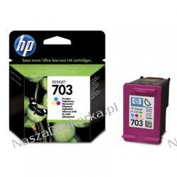 Tusz HP 703 CD888AE D730 F735 K109 K209 K510 oryginalny kolor
