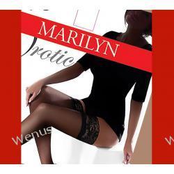 Marilyn Erotic pończochy samonośne z koronką