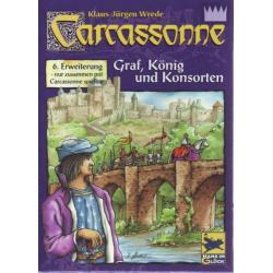 Carcassonne: Hrabia, król i poddani